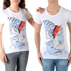 Tee Shirt Little Eleven Paris Shere Khan SS Mixte (Garçon / Fille) Blanc