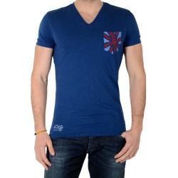 Tee Shirt Pepe Jeans Mario PM502190 Eton Bleu 573