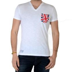 Tee Shirt Pepe Jeans Mario PM502190 Blanc 800