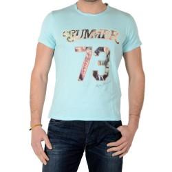 Tee Shirt Pepe Jeans Andino PM502157 Pale Bleu 506