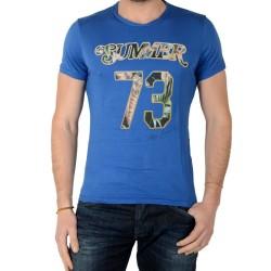 Tee Shirt Pepe Jeans Andino PM502157 Bleu 551