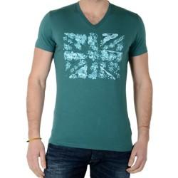 Tee Shirt Pepe Jeans Martin PM502191 Vert Woods 671