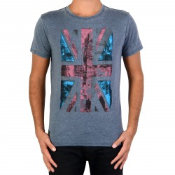 Tee Shirt Pepe Jeans PM502449 Boyd Factory Blue 560