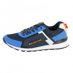 Basket Redskins HL761GJ Zanelli Navy / Bleu / Orange