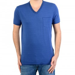 Tee Shirt Pepe Jeans (Col V) Dick Pm502759 553 Sea Blue