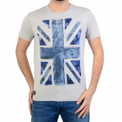 Tee Shirt Pepe Jeans (Col Rond) Scott Pm502787 905 Lt Grey