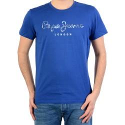 Tee Shirt Pepe Jeans (Col Rond) Jordan Pm502767 Sea Blue 553