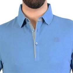 Polo T0CEV4EGC Premium Polo Pique Moonlight Blue