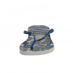 Tong Havaianas Hav.Slim Animals Grey / Navy Blue