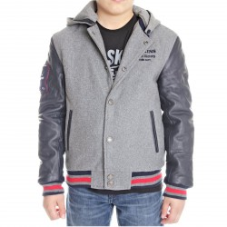 Blouson Teddy Redskins Junior New Carty Gris / Marine