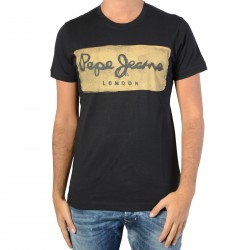 Tee Shirt Pepe Jeans Charing Black PM503215