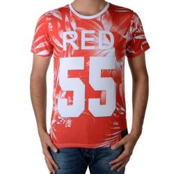 Tee Shirt Celebry Tees Inoigo Blanc / Rouge