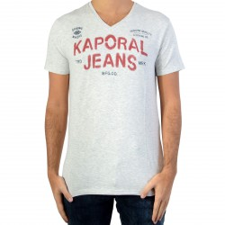 Tee Shirt Kaporal Tropi Light Grey