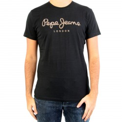 Tee Shirt Pepe Jeans PM503328 Sail Black