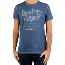 Tee Shirt Pepe Jeans PM 503324 Mundi Deep Sea
