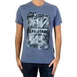 Tee Shirt Pepe Jeans PM503330 Vela Navy