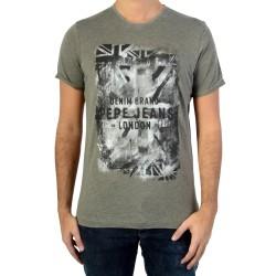 Tee Shirt Pepe Jeans PM503330 Vela Khaki Green