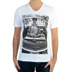 Tee Shirt Kaporal Carz White