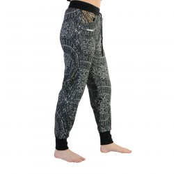 Pantalon Desigual Light Pant Gris Metal