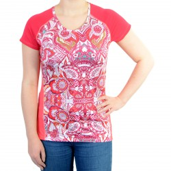 Tee Shirt Desigual Short Sleeve Rouge Red