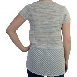 T-shirt Le Temps Des Cerises Camorra Light Ash grey