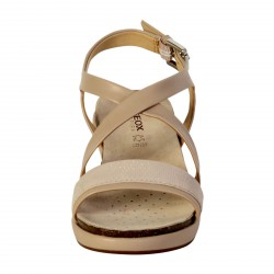 Sandale Geox Abbie D72P6A Taupe Champagne