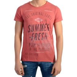 Tee Shirt Pepe Jeans Enfant Jeremy Cardinal Red
