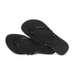 Tong Havaianas H.Slim Hardware Black/Dark Grey