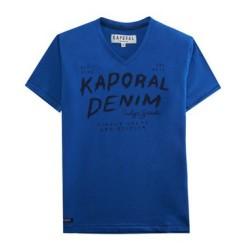Tee Shirt Kaporal Junior Moxie Cobalt