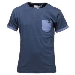 Tee Shirt Kaporal Junior Meripe Navy