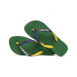 Tong Havaianas H Brasil Mix Green / Navy Blue