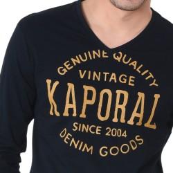 Tee Shirt Kaporal Tarzue Black