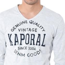 Tee Shirt Kaporal Tarzue Light Grey Melanged