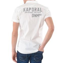 Chemise Kaporal Race White