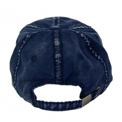 Casquette Von Dutch Tim 3 Denim Navy