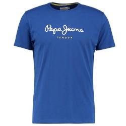 Tee Shirt Pepe Jeans PM501929 Eggo Crew 535 True Blue