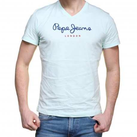 Tee Shirt Pepe Jeans PM501389 Eggo V 509 Glass