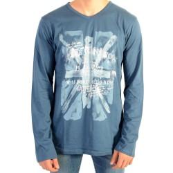 Tee Shirt Pepe Jeans Enfant Jill JR 588 Ocean PB501325