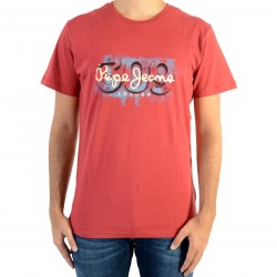 Tee Shirt Pepe Jeans Alnus PM503670 Garnet 284