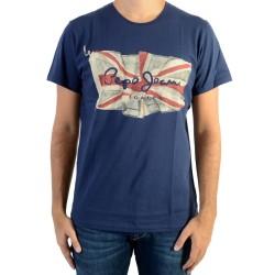 Tee Shirt Pepe Jeans Flag Logo 580 Sailor PM501854