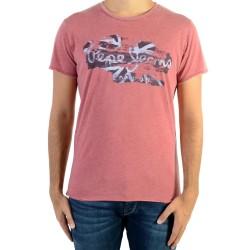 Tee Shirt Pepe Jeans Robinia 284 Garnet PM503683