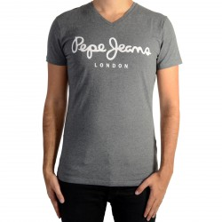 Tee Shirt Pepe Jeans (col V) Original Stretch Grey Marl