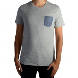 Tee Shirt Kaporal Goft Grey Melanged