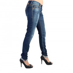 Jeans Le Temps Des Cerises Alani JF216ALWSS10 Blue