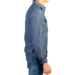 Chemise Kaporal Enfant Nogu Blue