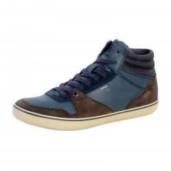 Basket Geox U Box J U74R3J 022EK C6TF4 Dark Coffee Navy