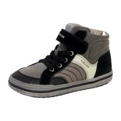 Basket Geox Enfant Elvis A J64A4A 05422 C0062 Dark Grey Black