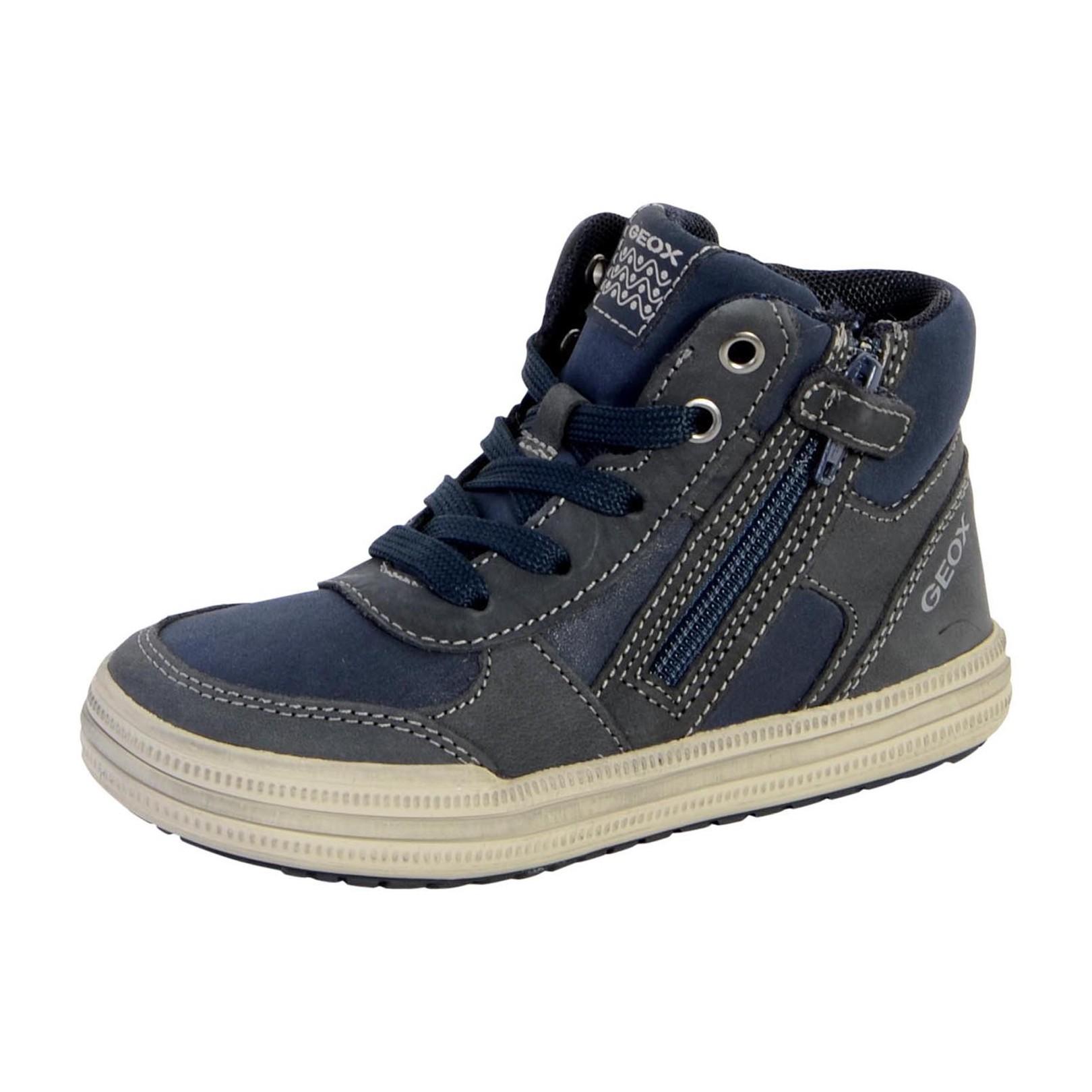 Basket Geox Enfant Elvis B J64A4B 0BCSE C0661 Navy Grey