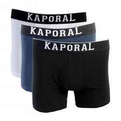Pack de 3 Boxer Kaporal Quad Black / White / Navy