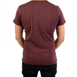 Tee Shirt Pepe Jeans Fisher PM503779 Bordeaux 298